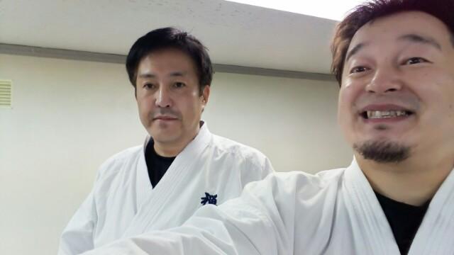 札幌 北海道 空手 兄と稽古Day!今日から2月ですよ〜