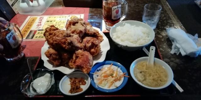 札幌 北海道 空手 凄い唐揚げ!