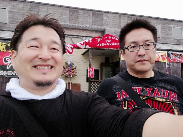 札幌 北海道 空手 心輝会北海道顧問&正道会館全日本チャンピオンが洞魂ラーメンに!